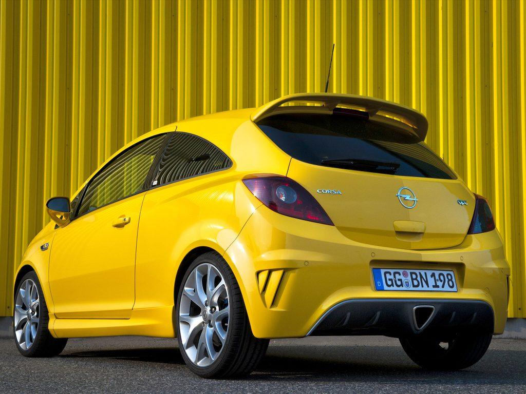 2010 Opel Corsa OPC