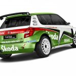2011 Skoda Fabia Super World Rally Car