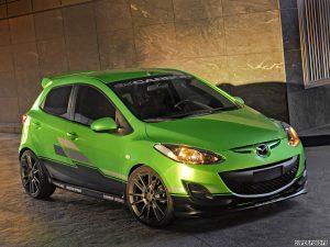 2011 3dcarbon Mazda 2