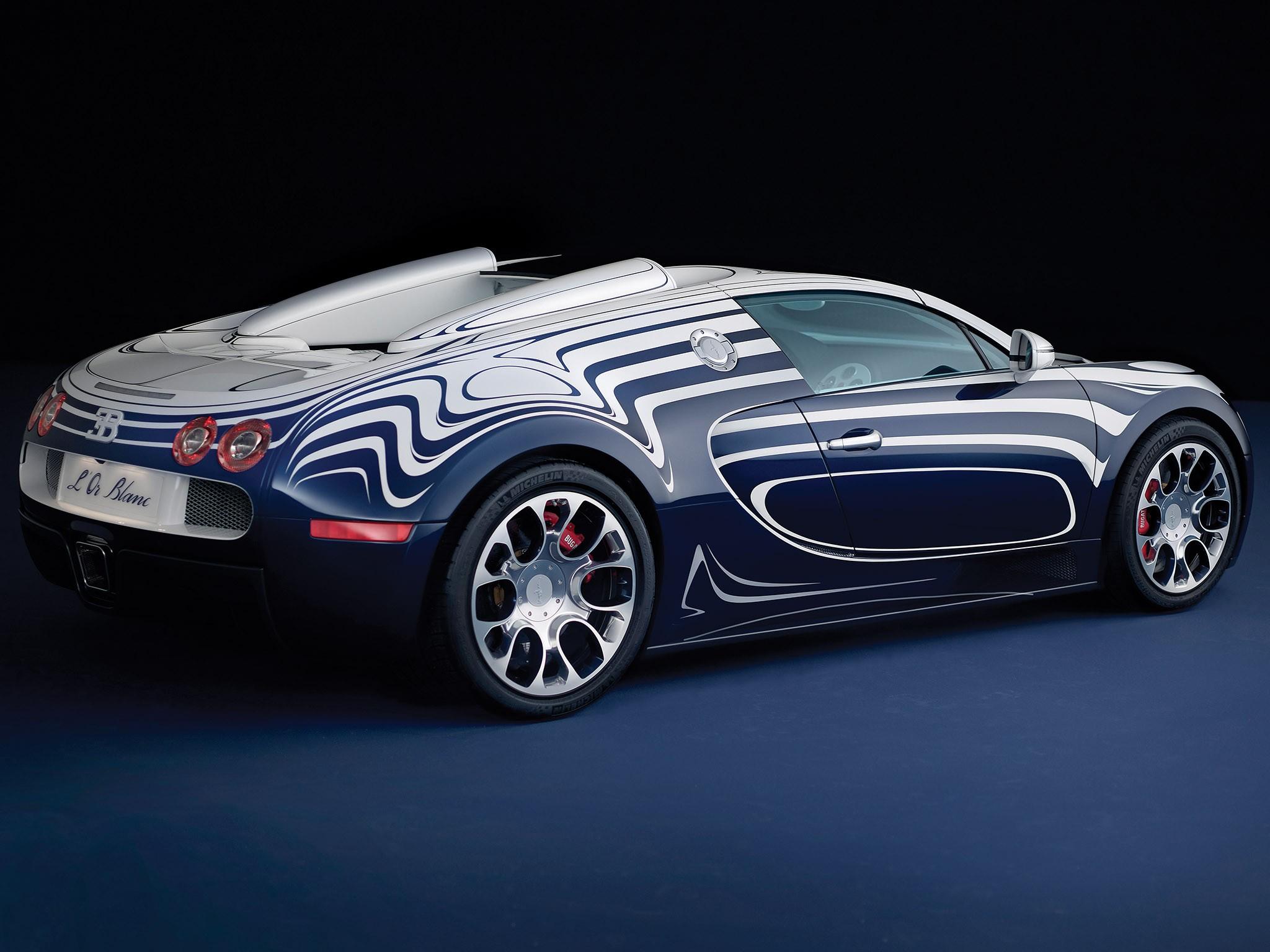 Bugatti Veyron Grand Sport OR Blanc (2011)
