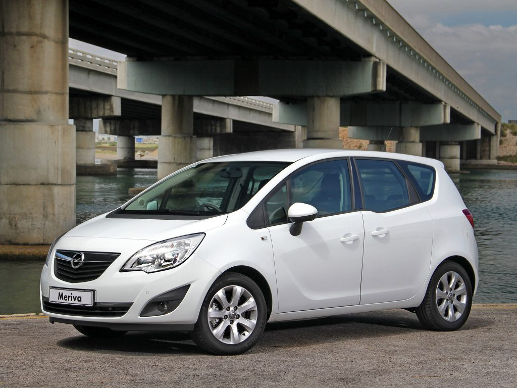 2012 Opel Meriva Turbo