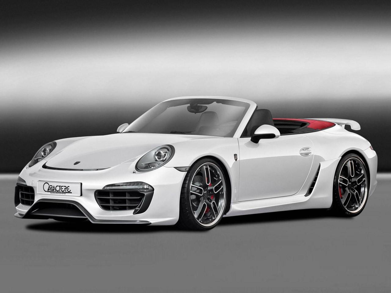 Caractere Porsche 911 Cabriolet 2013