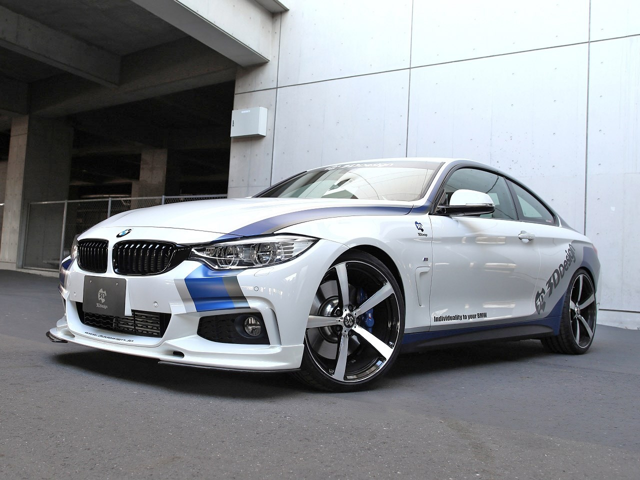 Bmw 435 i 3D Design 2014 - Photoscar