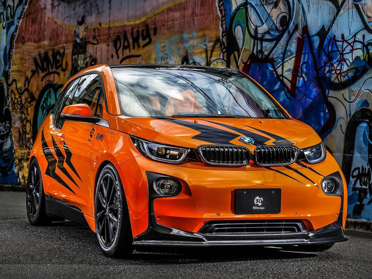 3D Design Bmw i3 2014 - Photoscar