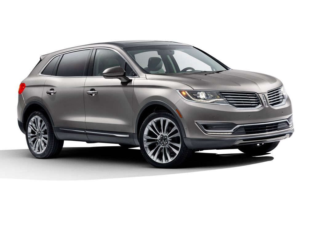 2015 Lincoln MKX Gris Avant