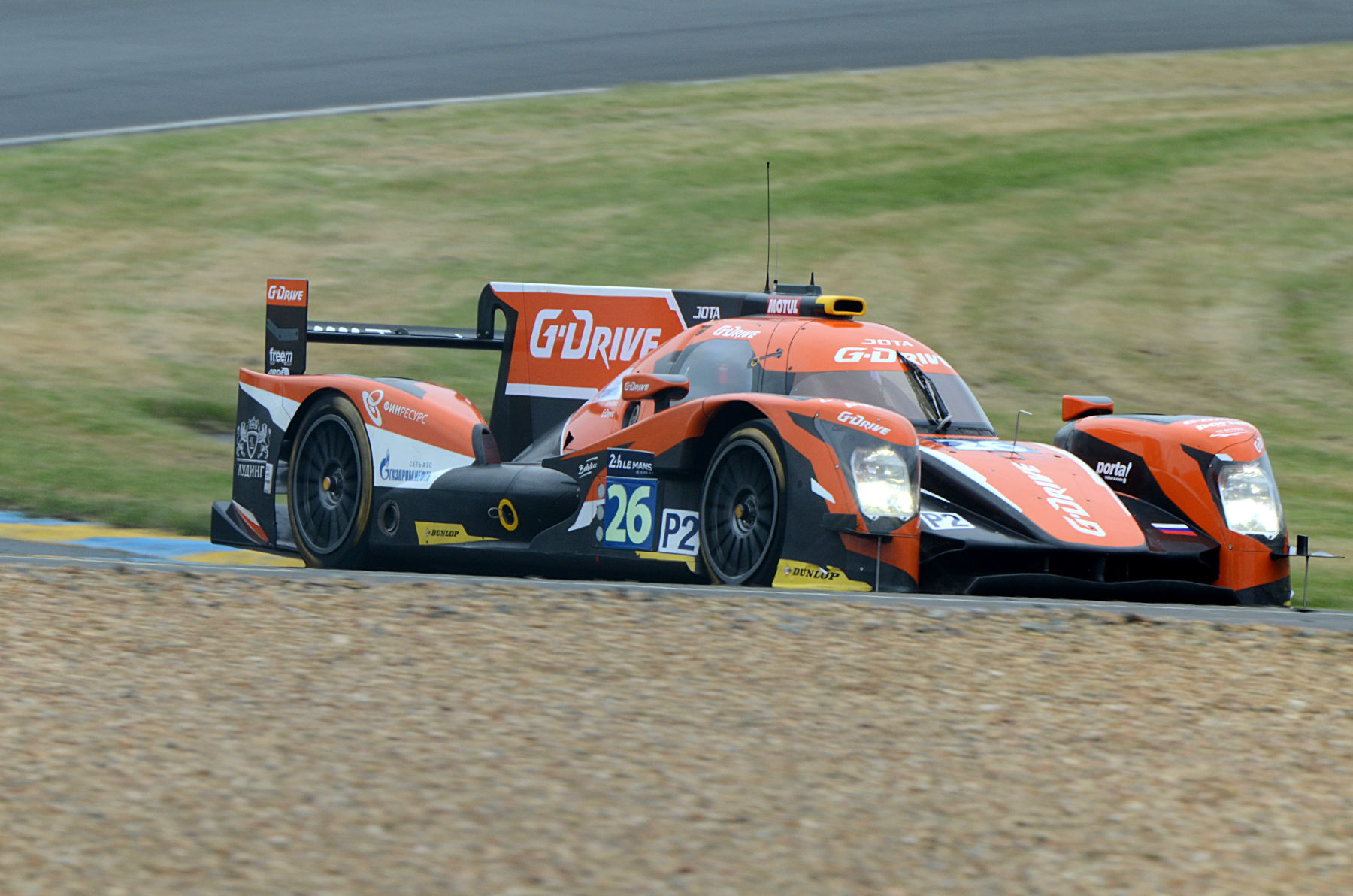 2016 Oreca 05 Nissan Team G-Drive Racing