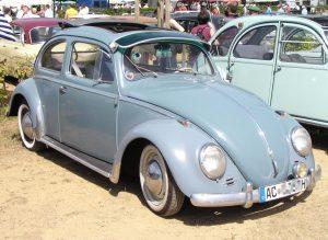 1957 VW Coccinelle 1200 Export