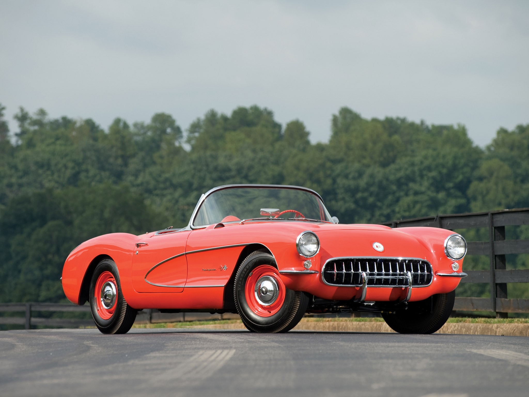 1957 Chevrolet Corvette C1 Airbox Copo Race Car