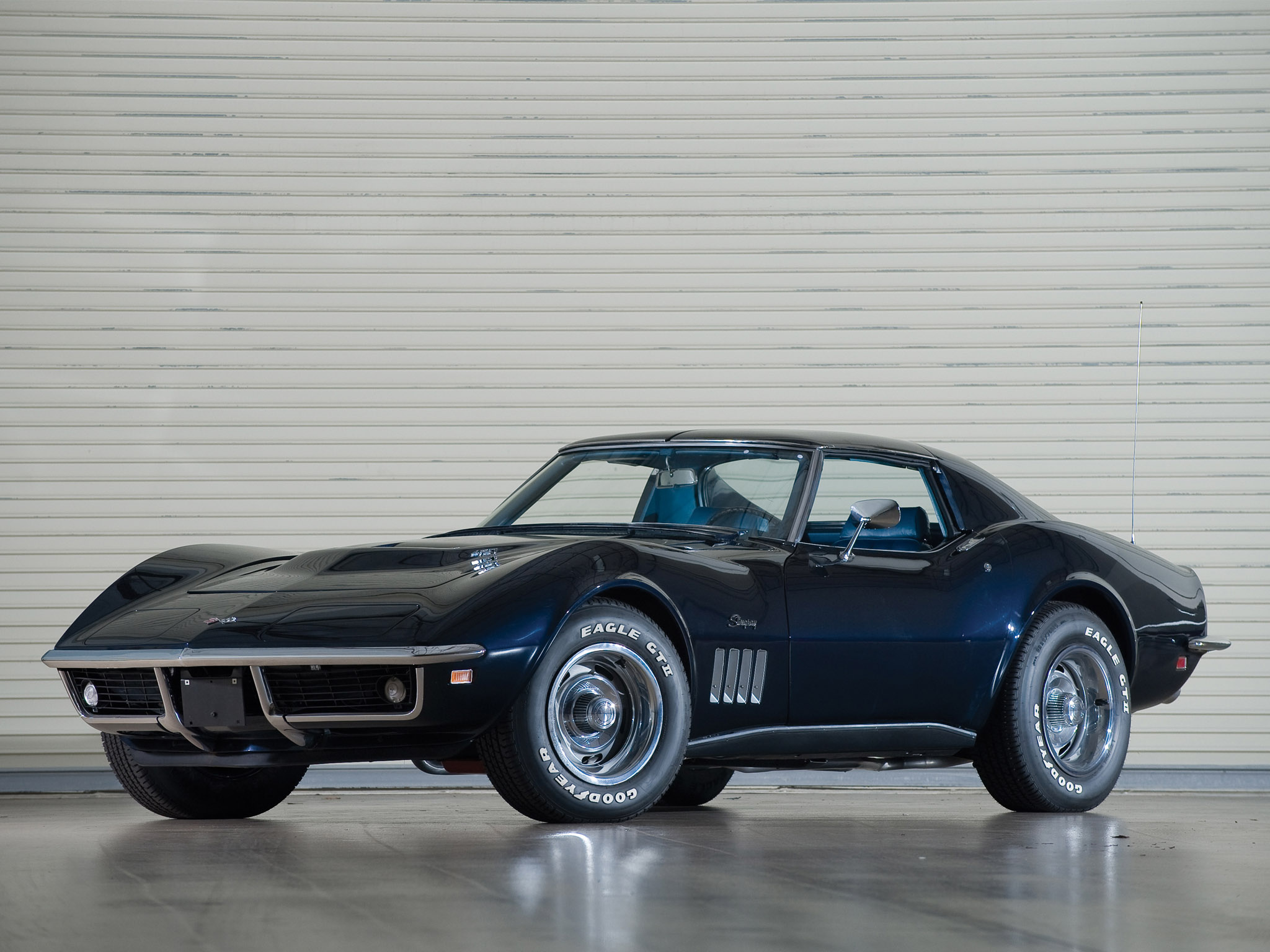 1969 Chevrolet Corvette C3 Stingray L36 427 Coupe