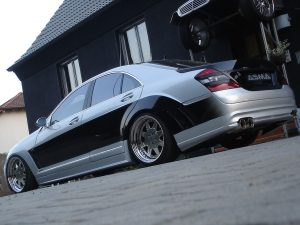 2007 Asma Design S Eagle II Widebody based Mercedes S Class