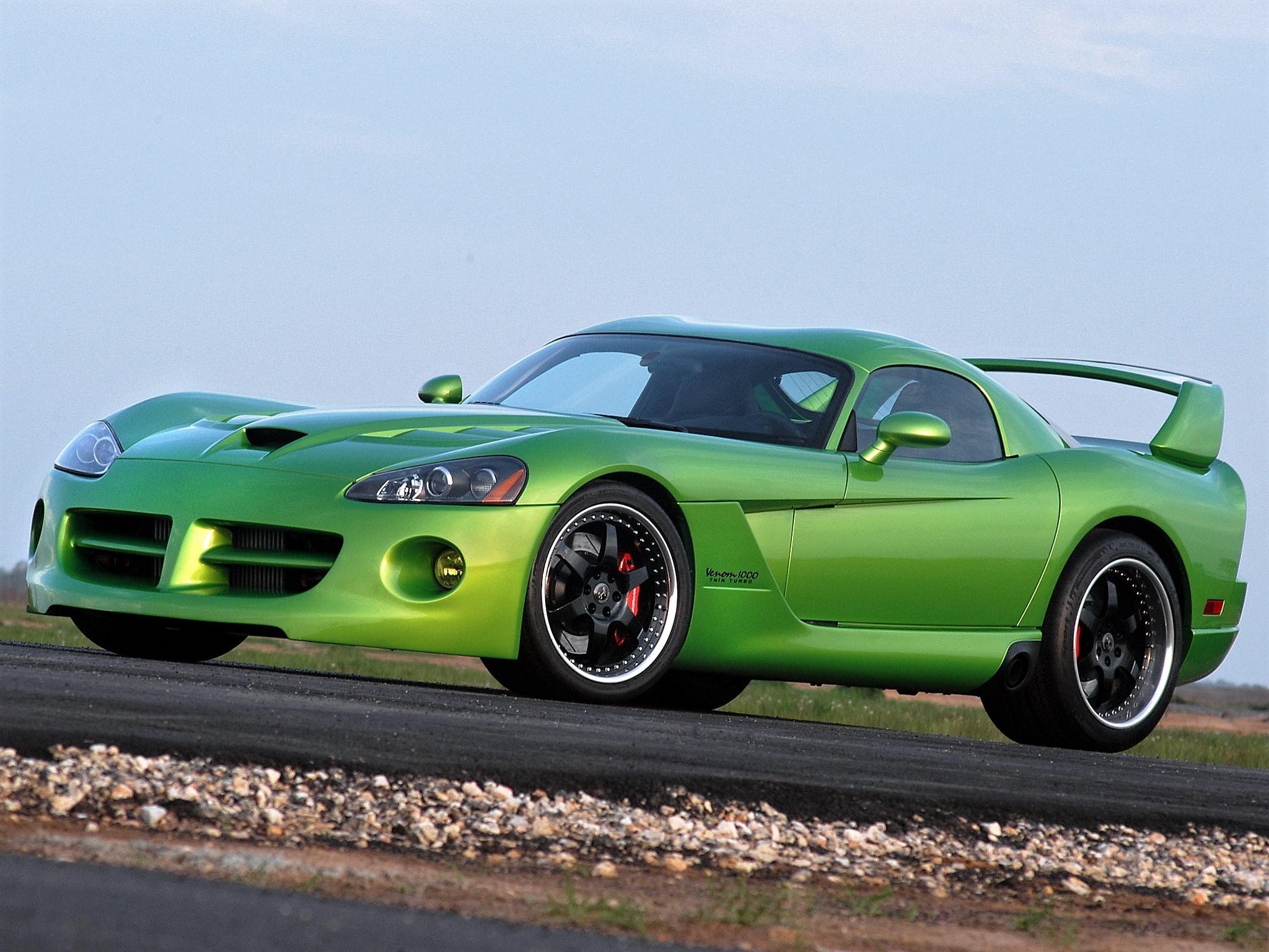 2007 Hennessey - Dodge Viper Venom 1000 Twin Turbo SRT Coupe