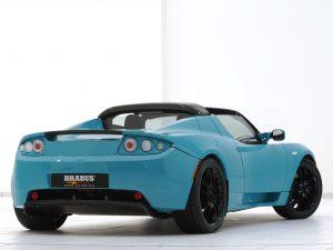 2010 Brabus Tesla Roadster Sport Green Package