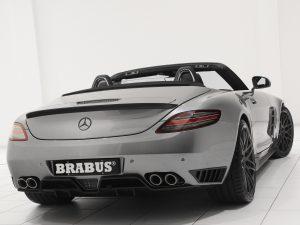 Brabus AMG Mercedes SLS Roadster 2011