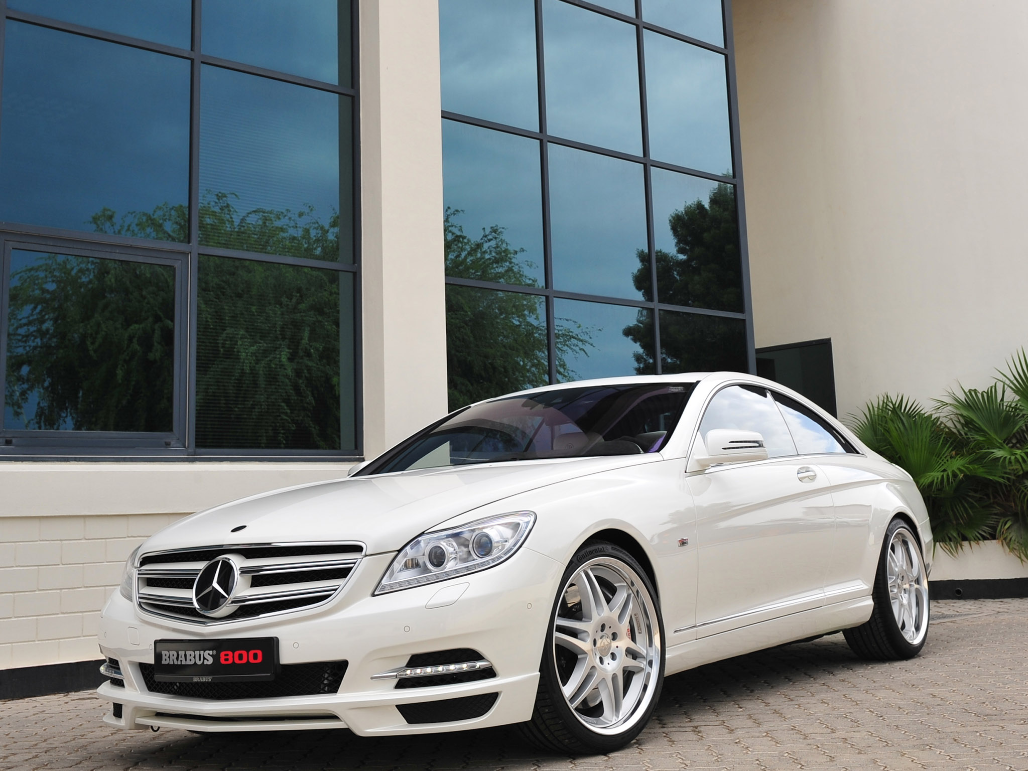 2011 Brabus Mercedes CL800 Coupe