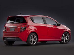 2012 Chevrolet Sonic RS