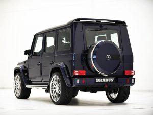 Brabus Mercedes G63 Widestar Mystic Blue 2014