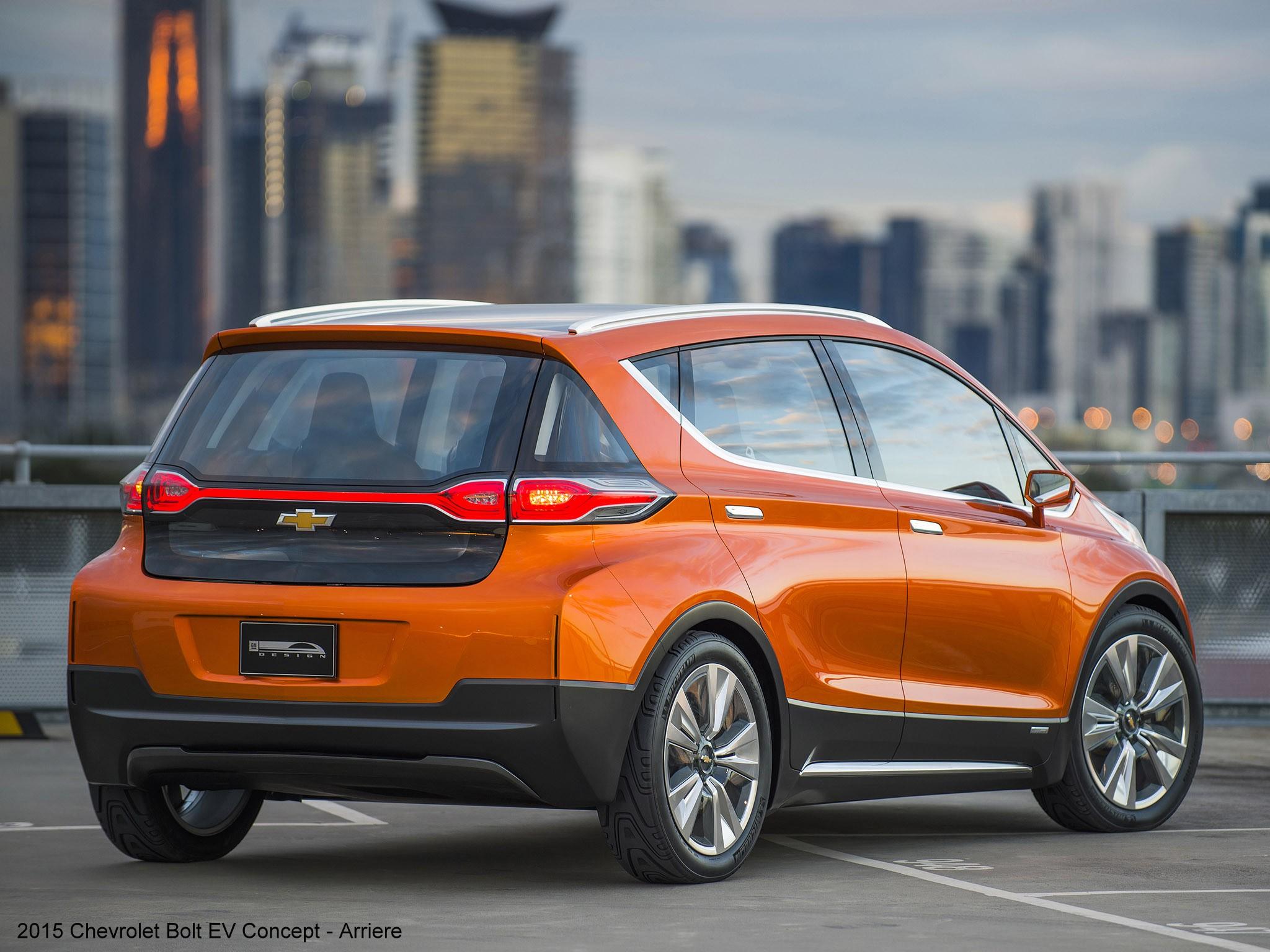 2015 Chevrolet Bolt EV Concept