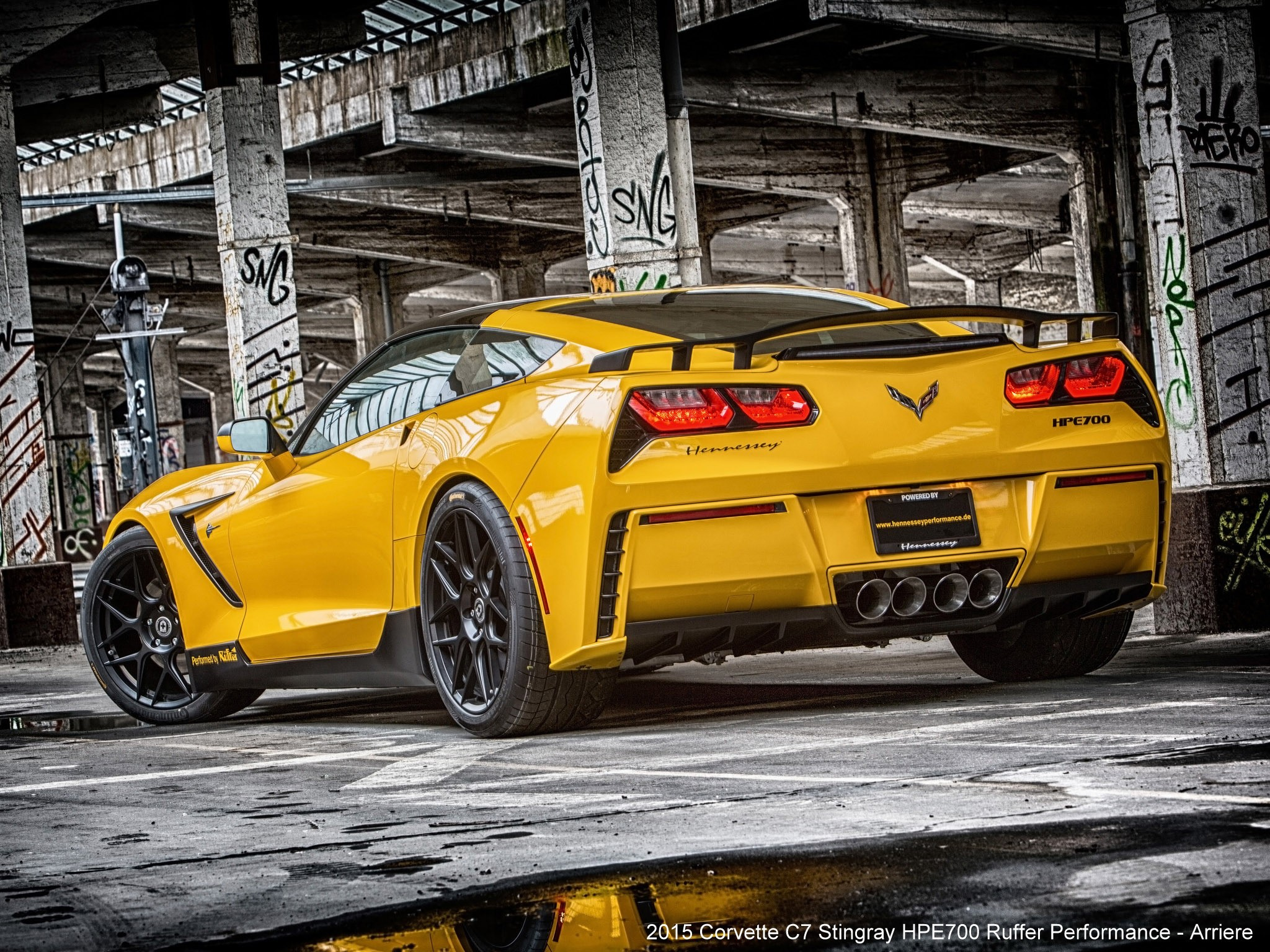 2015 Chevrolet Corvette C7 Stingray HPE700 - Ruffer-performance