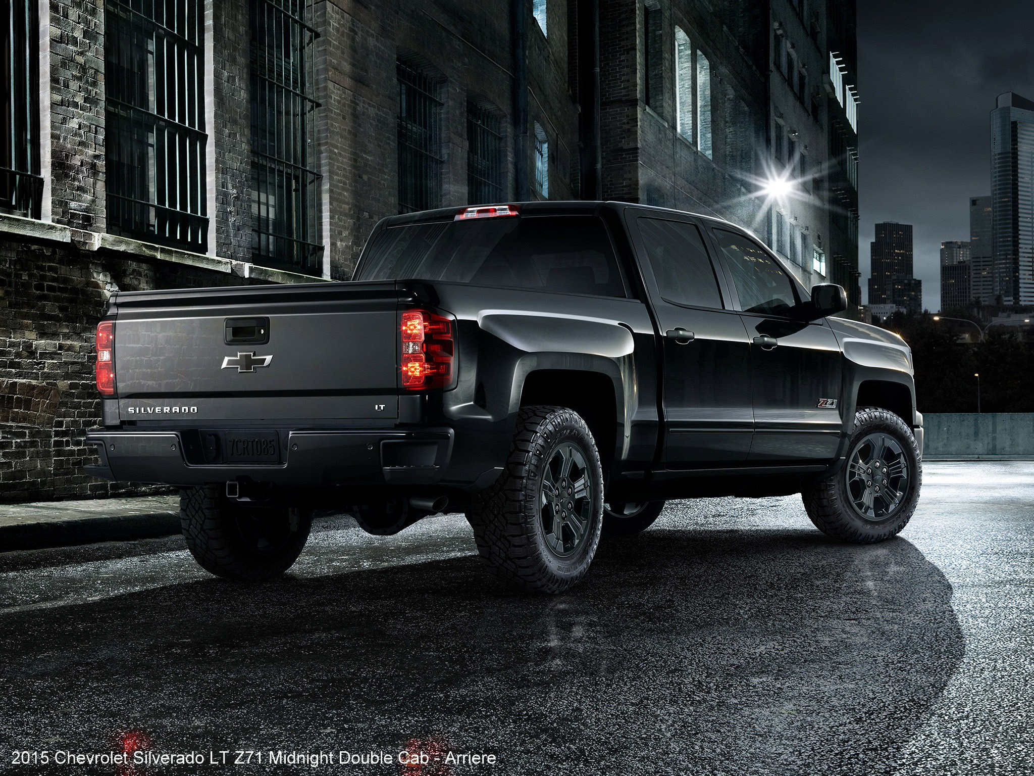 2015 Chevrolet Silverado LT Z71 Midnight Double Cab