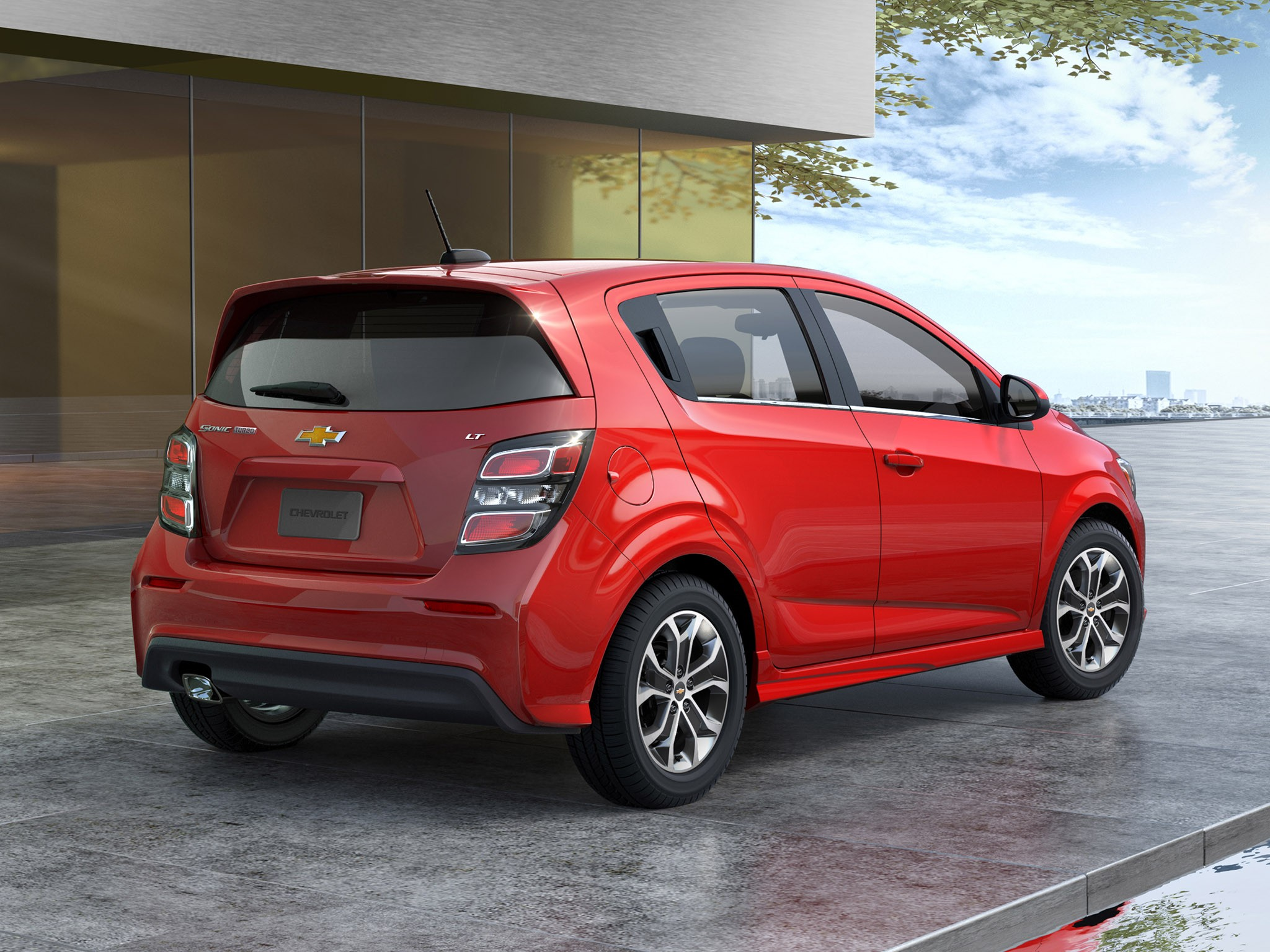 2016 Chevrolet Sonic Hatchback USA