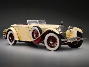 1928 Mercedes 680s Saoutchik Torpedo Roadster