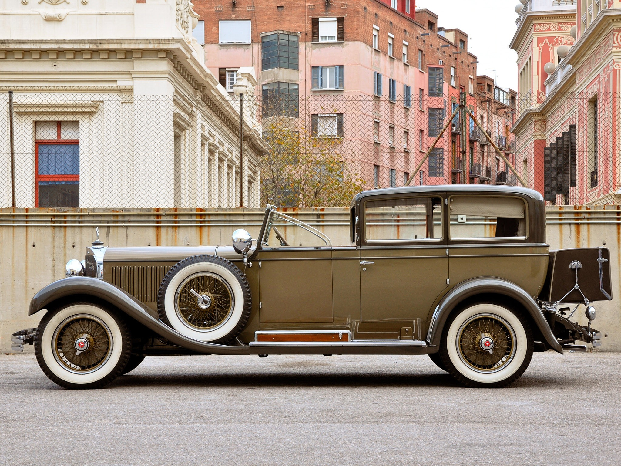 1929 Mercedes 630k by Castagna