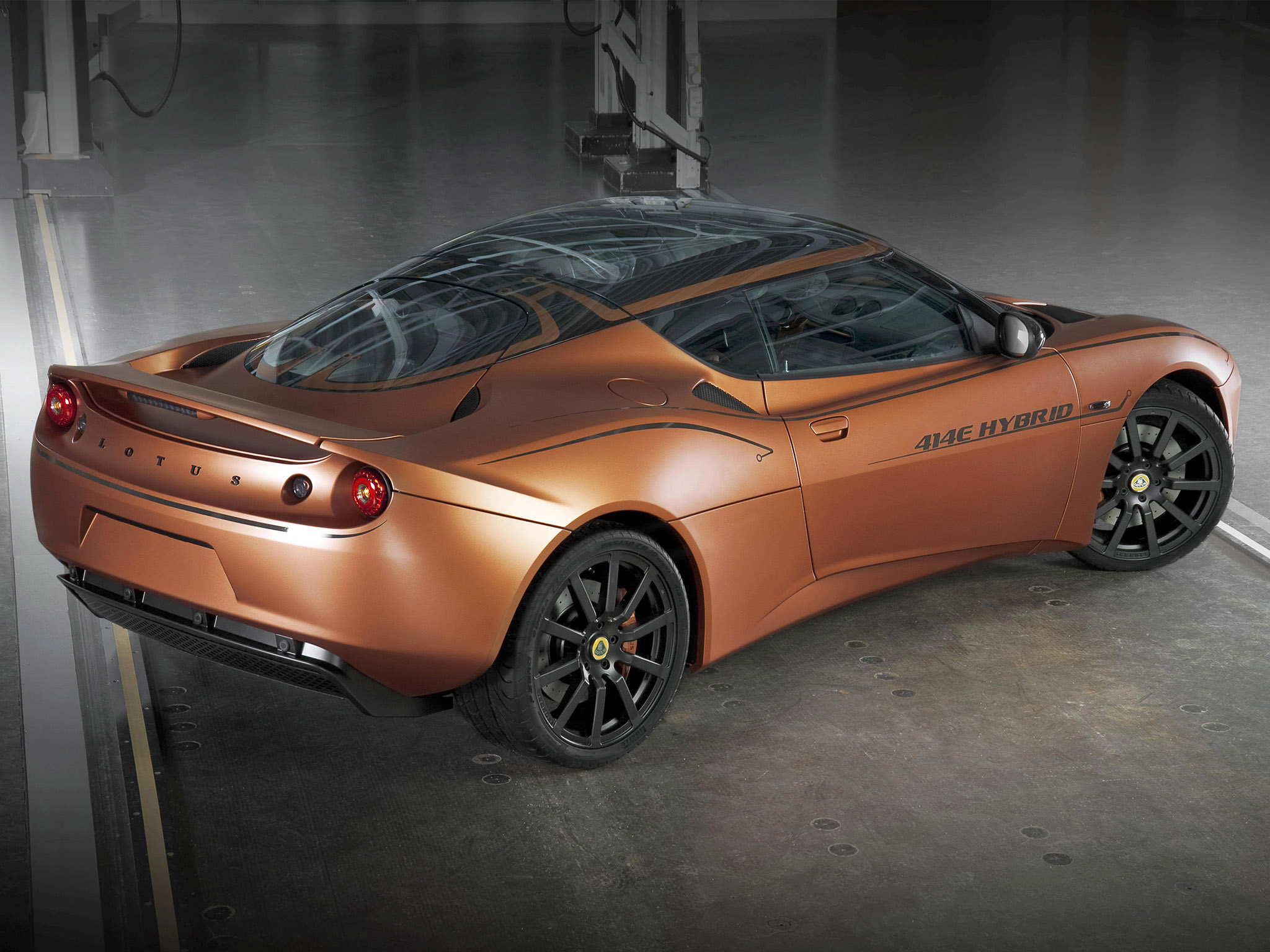 2010 Lotus Evora 414e Hybrid Concept