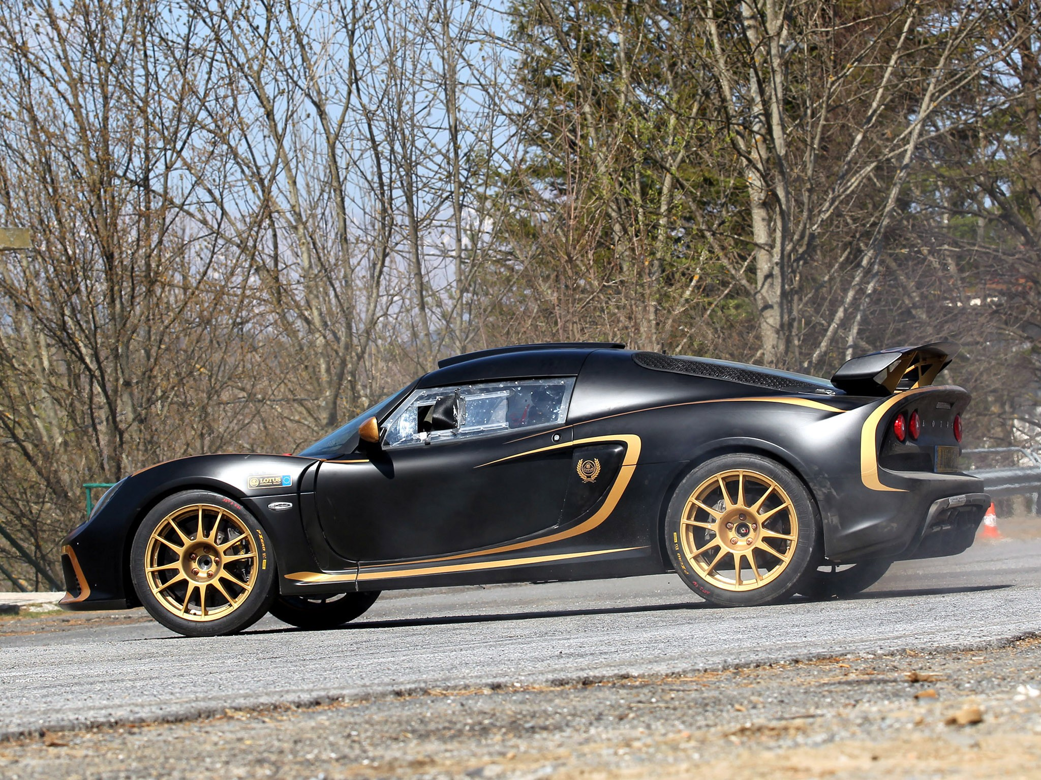 2012 Lotus Exige R GT Black Gold