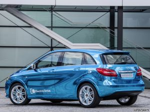 2012 Mercedes B-Class Electric Drive Concept W246