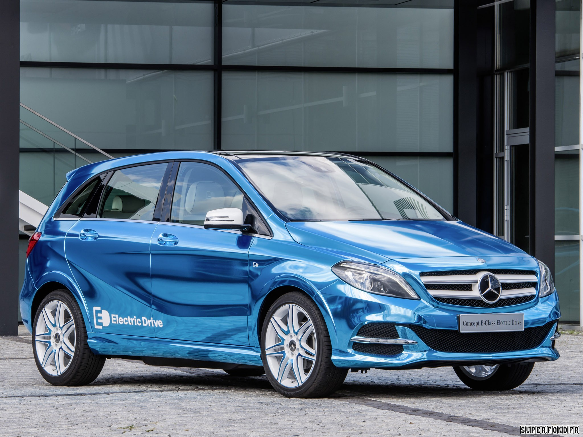 2012 Mercedes B-Class Electric Drive Concept W246