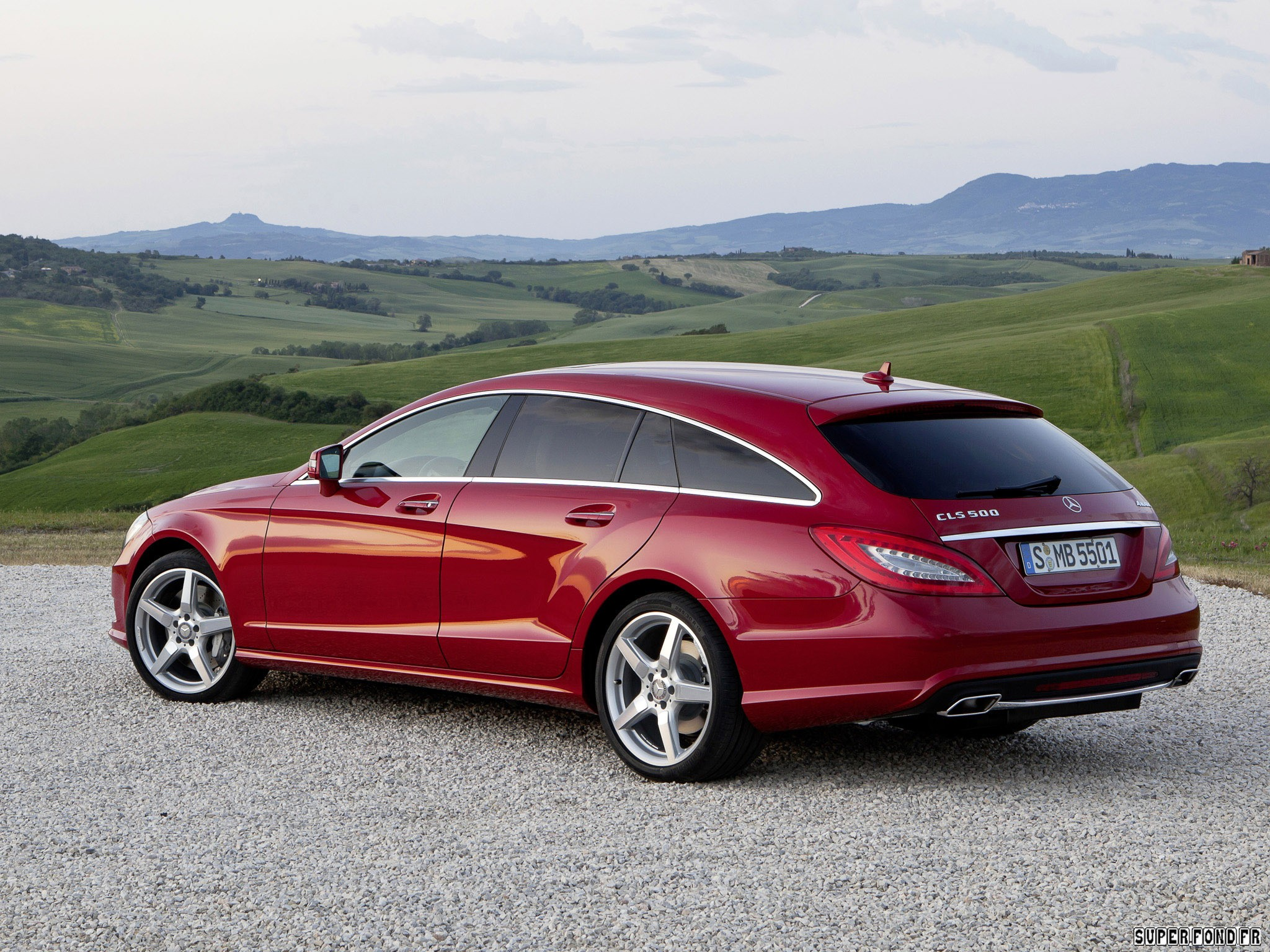2012 Mercedes CLS 500 4matic Shooting Brake AMG Sports Package x218