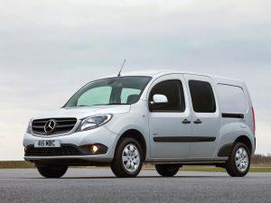 Mercedes Citan 109 CDI Crewbus UK (2013)