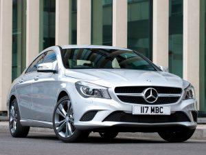 Mercedes CLA 180 C117 UK 2013
