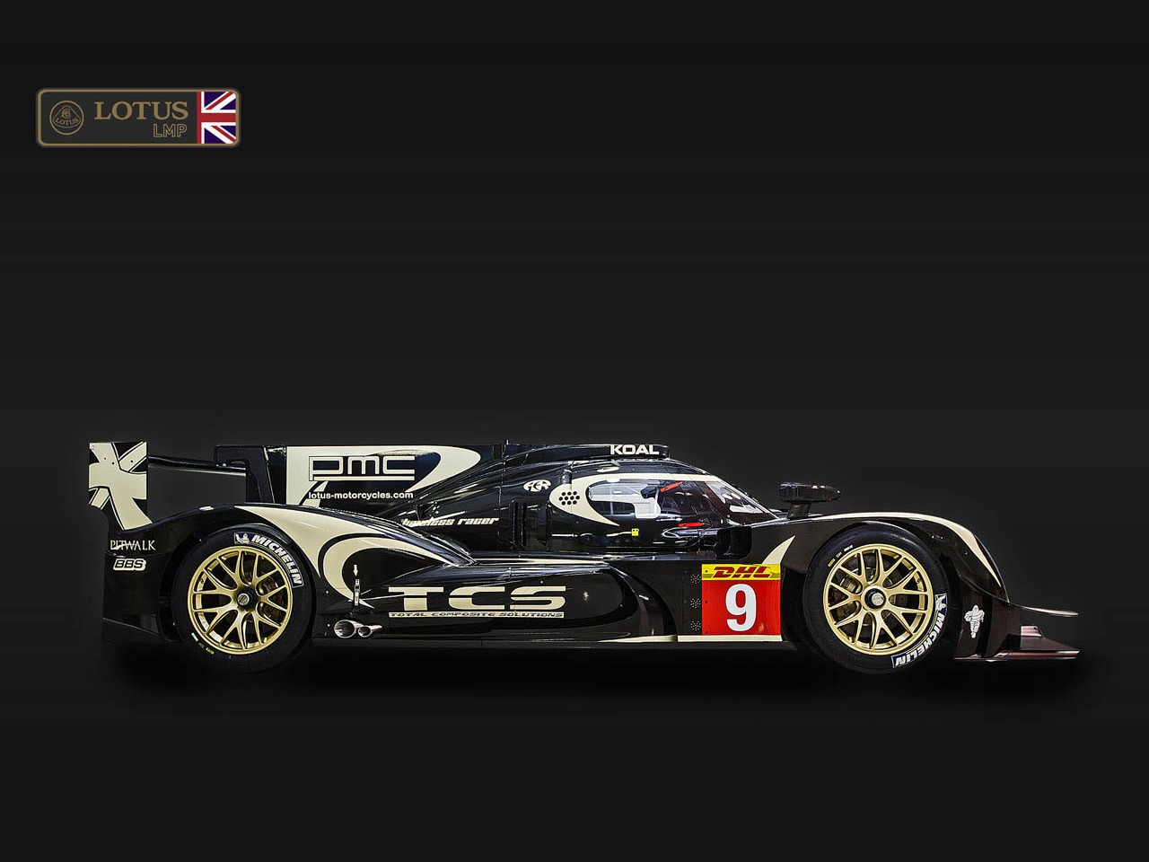 2014 Lotus LMP1 Race Car