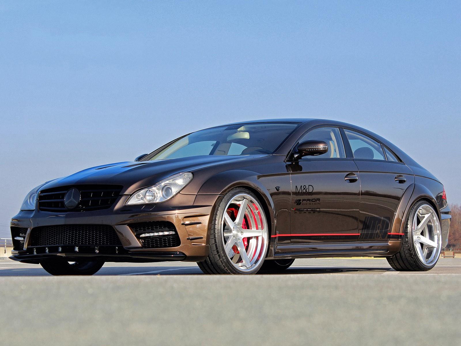Prior-Design Mercedes CLS Black Edition Widebody W219 2014