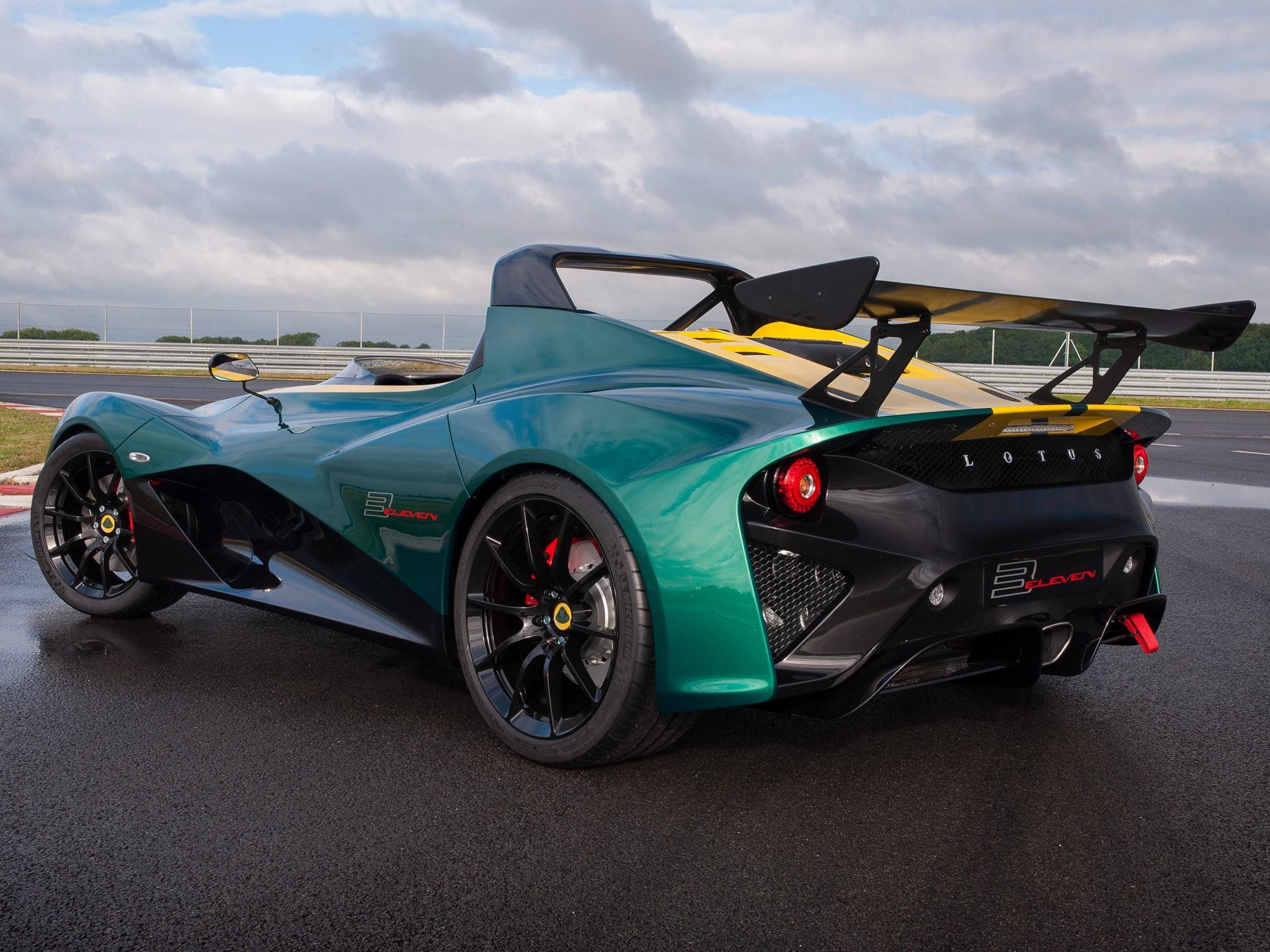 2015 Lotus 3 Eleven