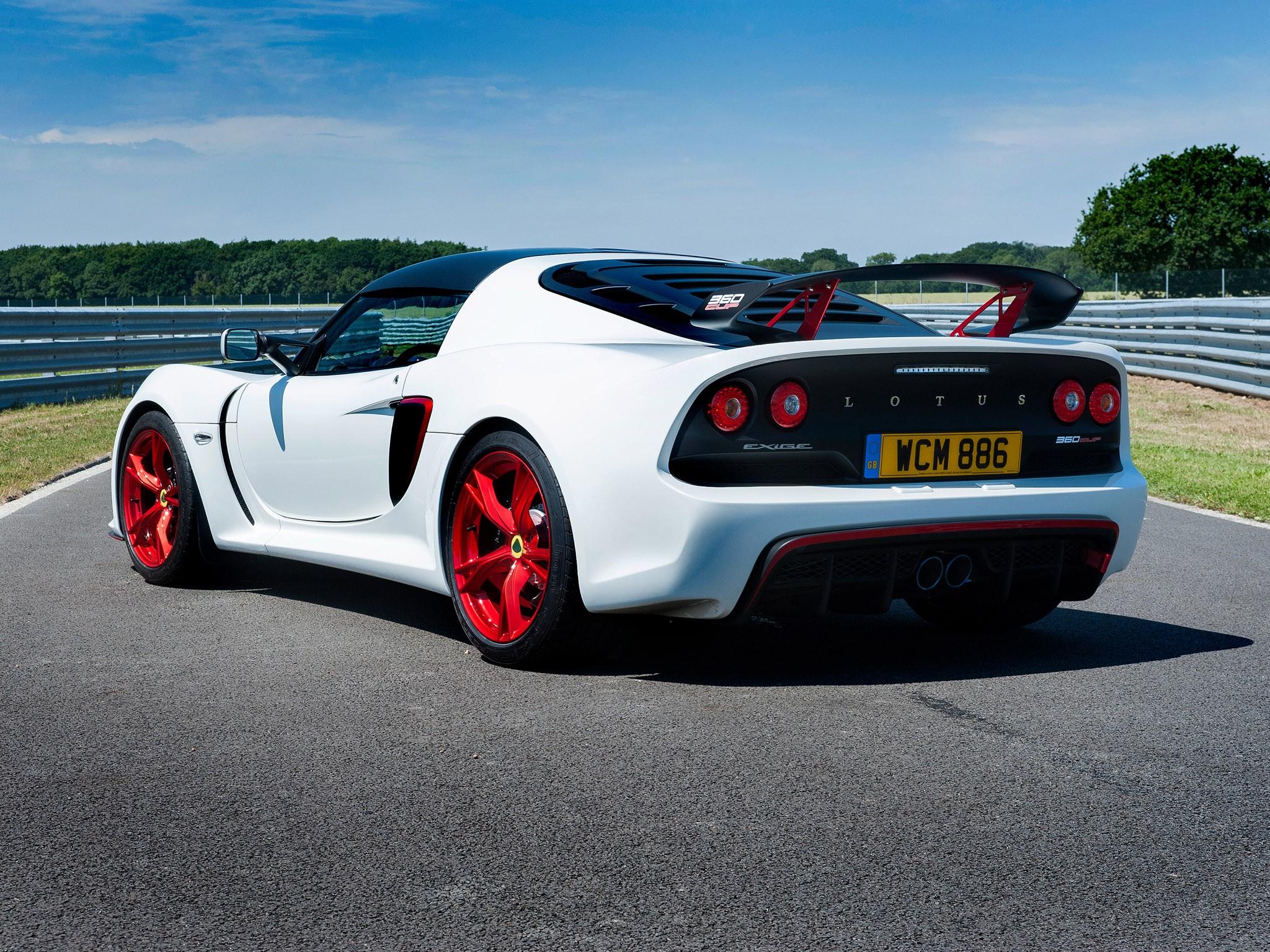 2015 Lotus Exige 360 Cup