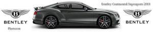 Banniere Bentley Continental Supersports 2018