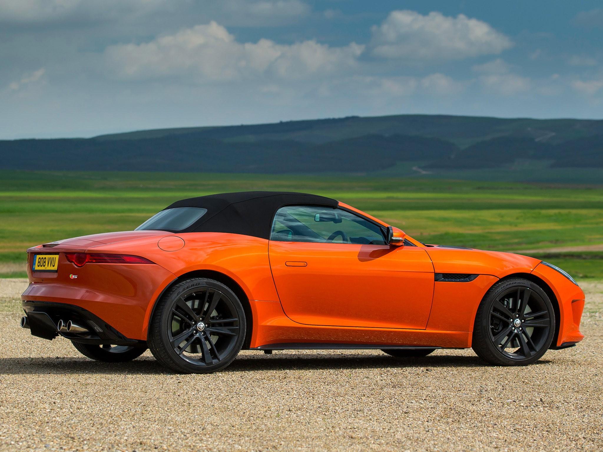 2013 Jaguar F-Type V8 S UK