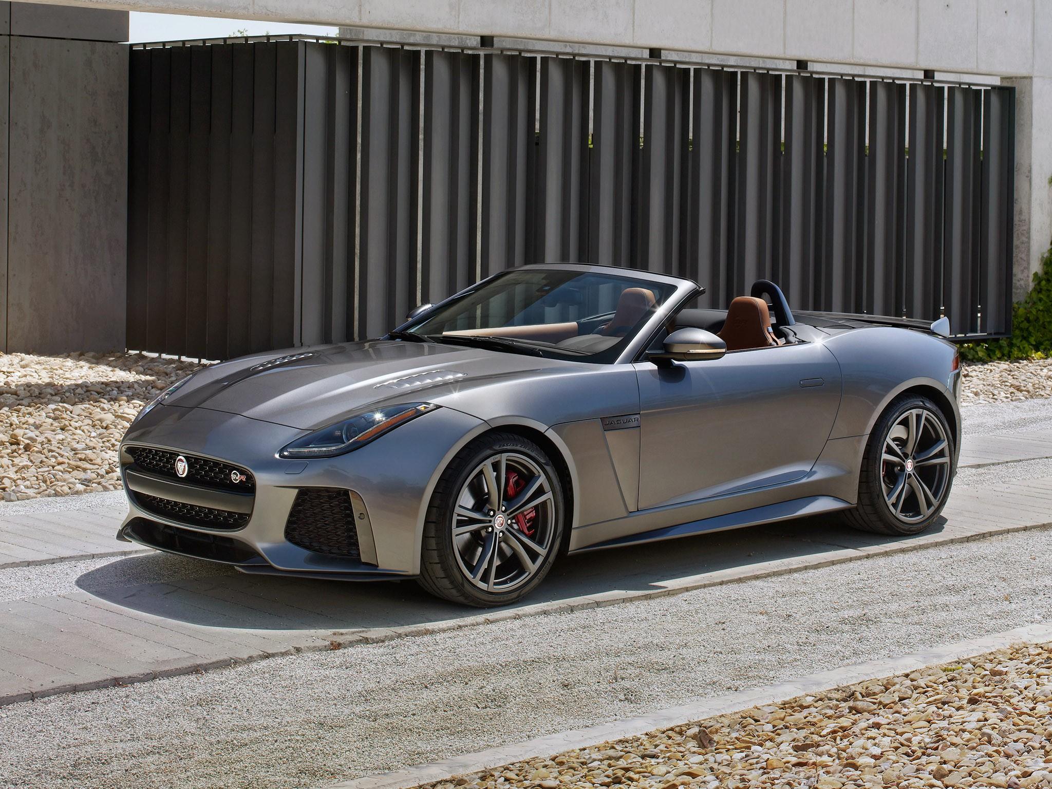 2016 Jaguar F-Type SVR Convertible