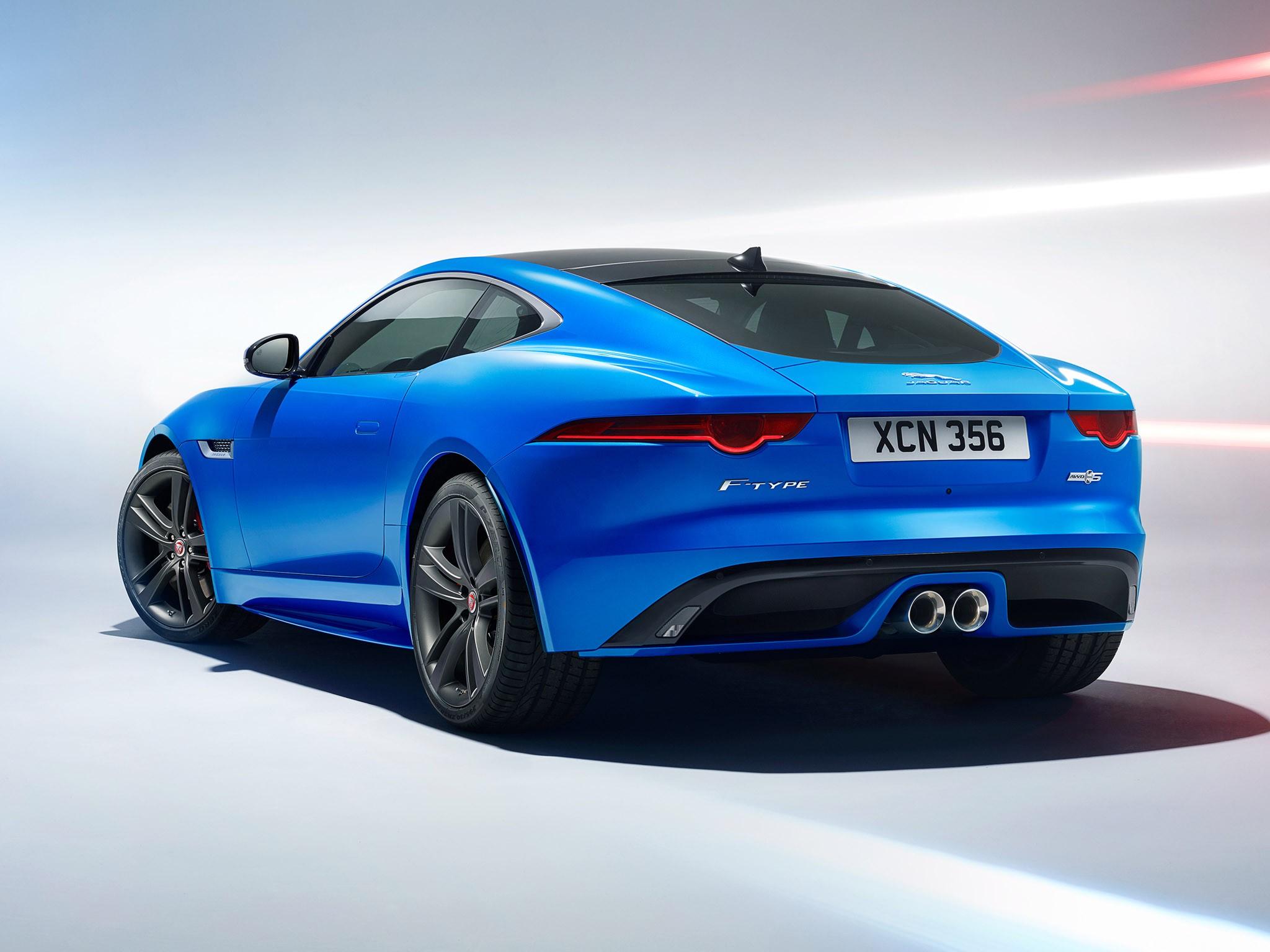 2016 Jaguar F-Type S Coupe awd British Design Edition