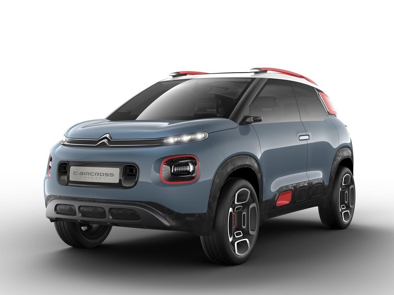 Citroen C-Aircross Concept 2017 – Le C-Aircross est un nouveau crossover