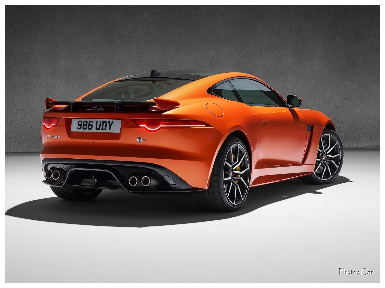 2017 Jaguar F-Type SVR Coupe