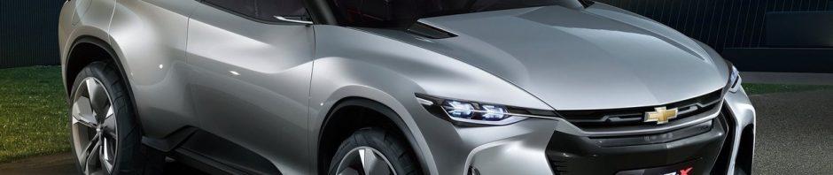 Chevrolet FNR-X Concept 2017 crossover hybride