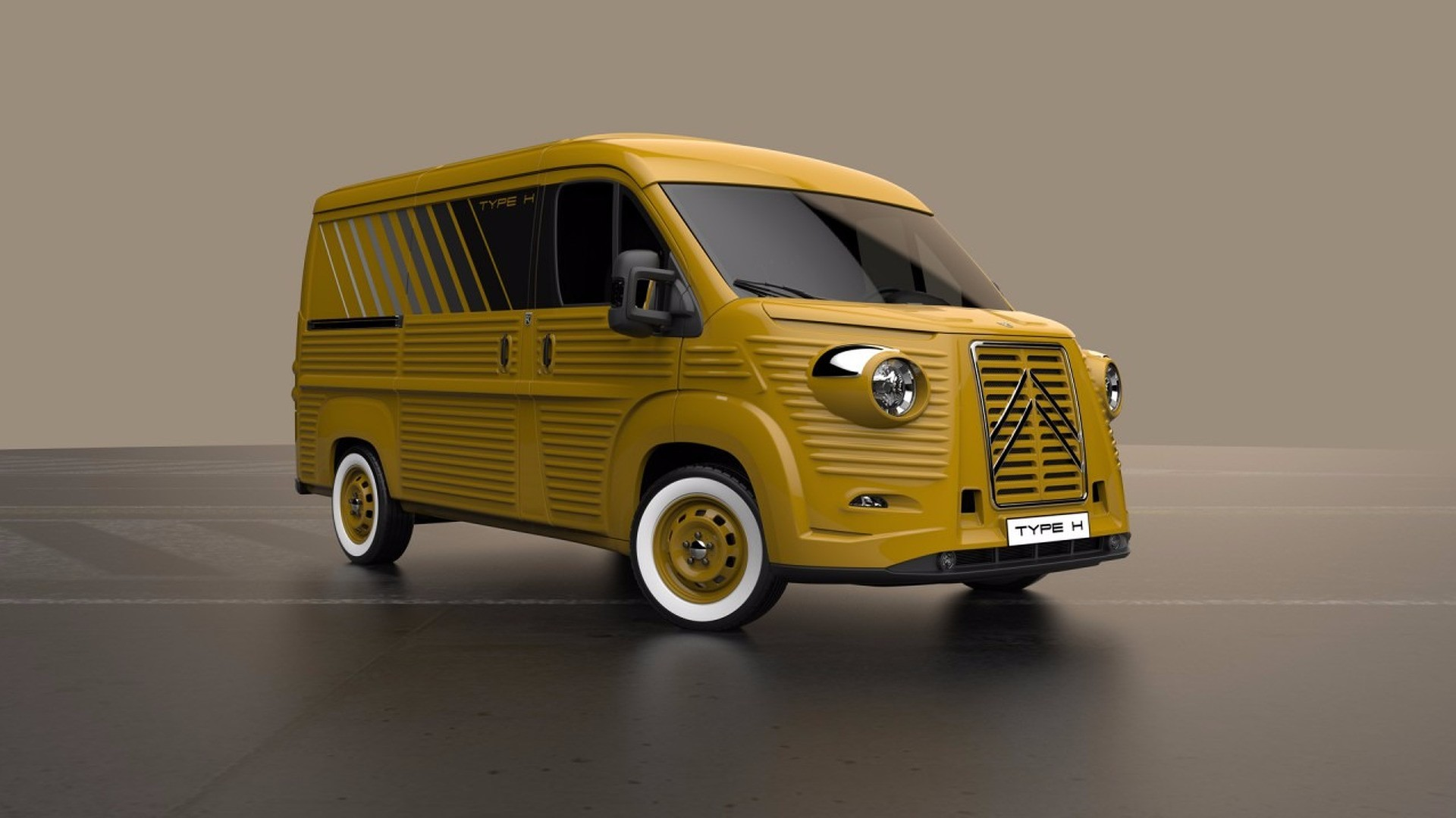 Citroen Type H 70th Anniversary 2017, une version moderne.