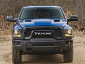2017 Dodge Ram 1500 Rebel Blue Streak