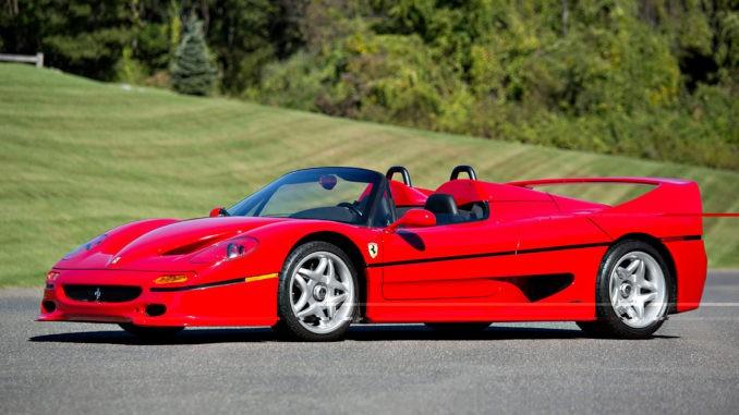 Ferrari F50 usa 1995
