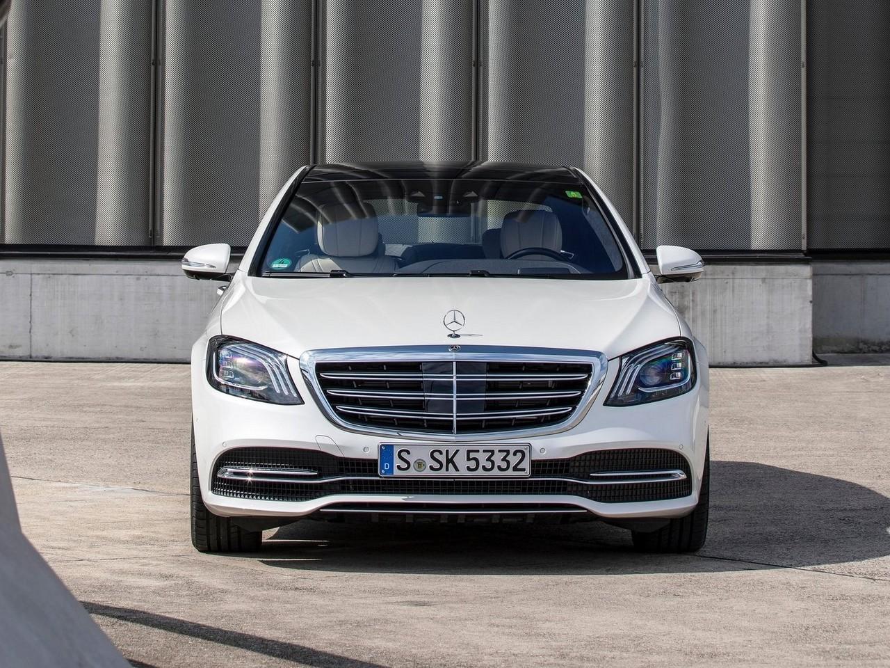 Mercedes Benz Classe S 2018 – Moteur V8 bi-turbo de 4,0 litres de 463 ch