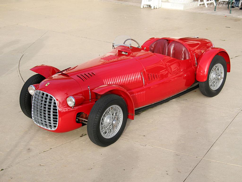 Ferrari 166 Spyder Corsa 1947 1948