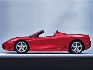 Ferrari 360 Spyder 2001